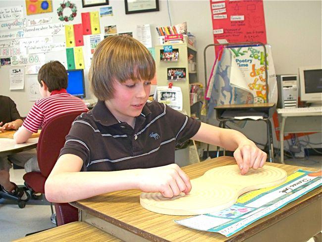 Student using Intuipath.